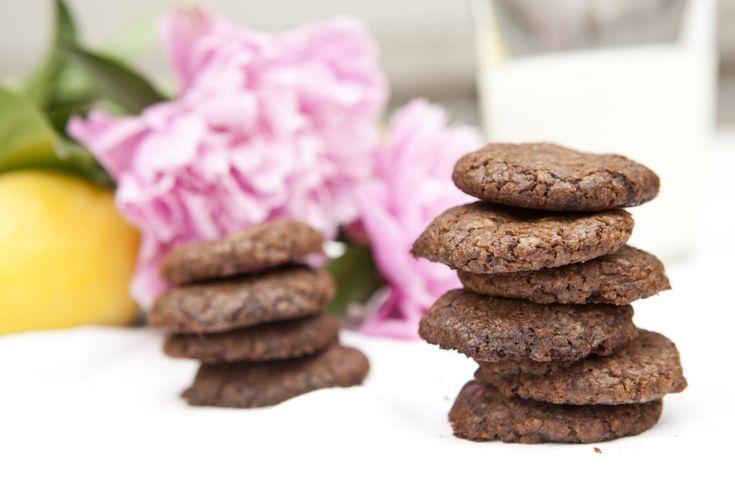 Čokoládovo citronové sušenky