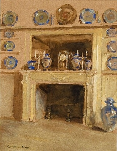 Study for Blue and White (Etude) by Walter Gay