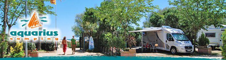 Camping Spanien - Aquarius Camping an der Costa Brava direkt am Strand: Herzlich Willkommen