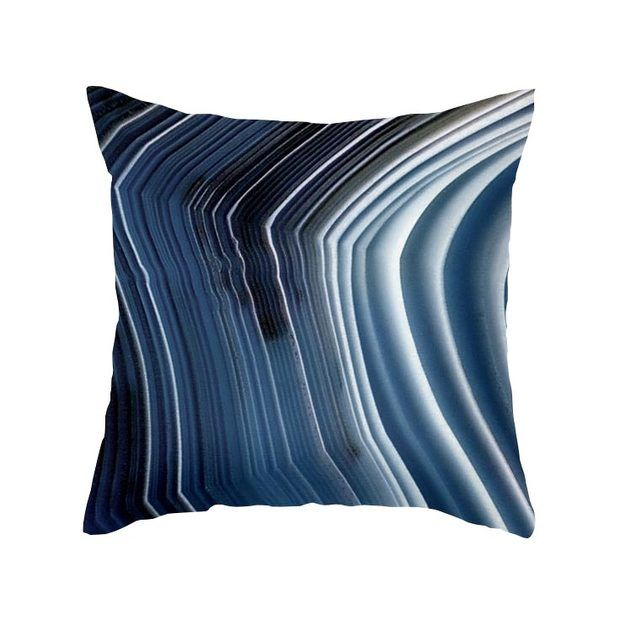 Brilliant Blues Pillow