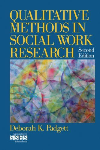 Qualitative research methods for social sciences