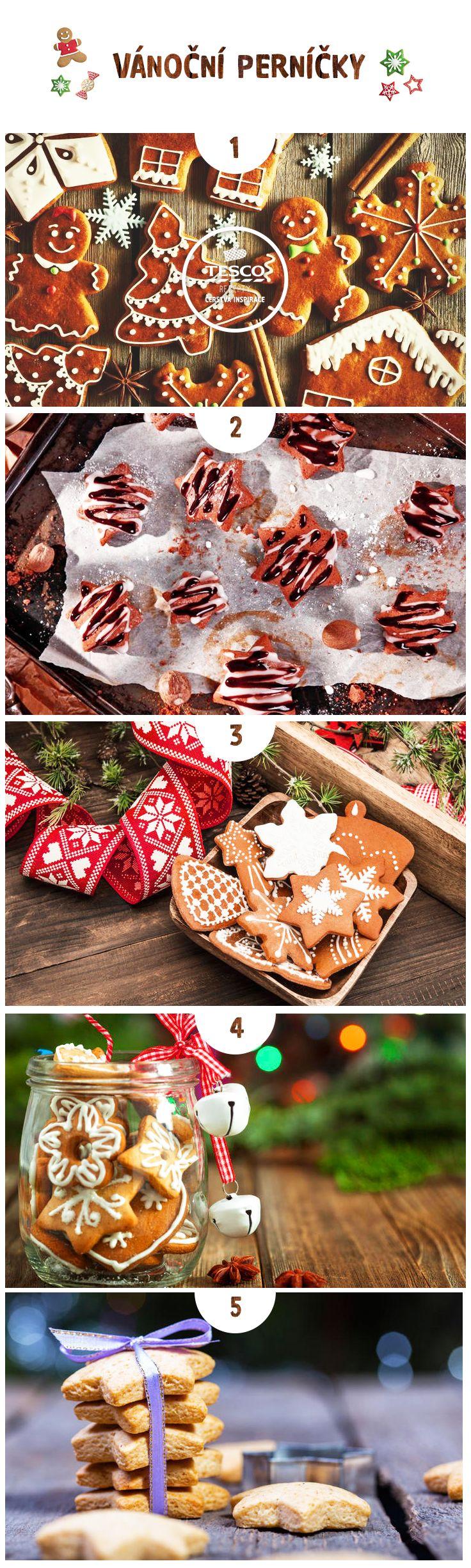 Upečte si vánoční perníčky podle našich receptů!