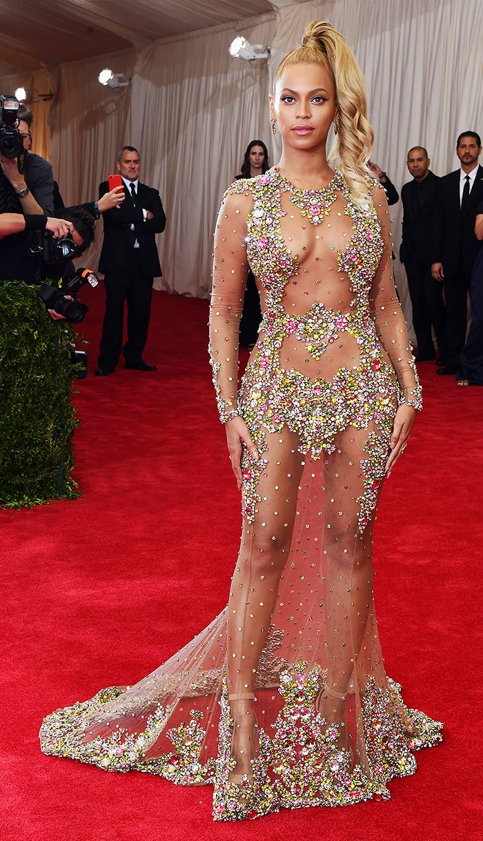 Beyonce at the 2015 Met Gala