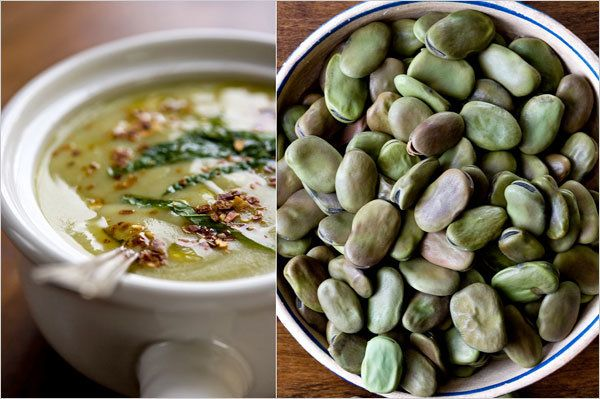 Fava Bean Soup with Mint | Martha Rose Shulman | The New York Times ...