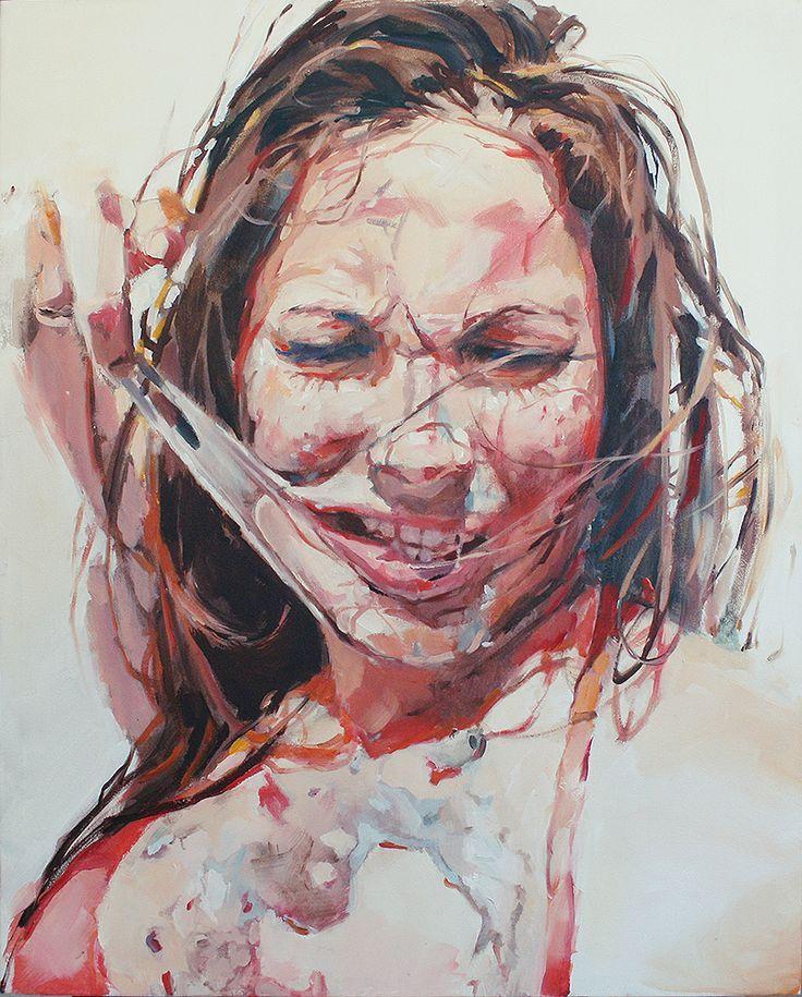 jenny saville paintings | Burned