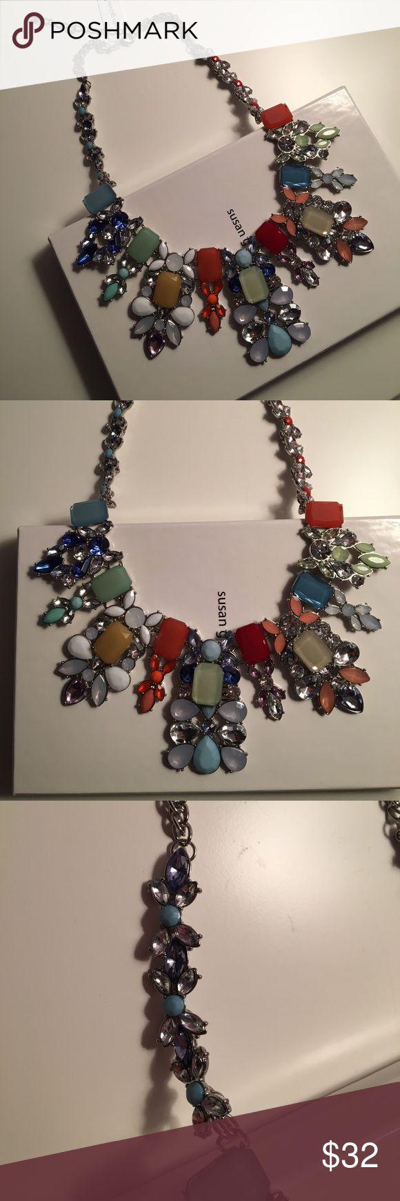 Susan Graver Necklace Never worn! Gorgeous necklace! Susan Graver Jewelry Necklaces