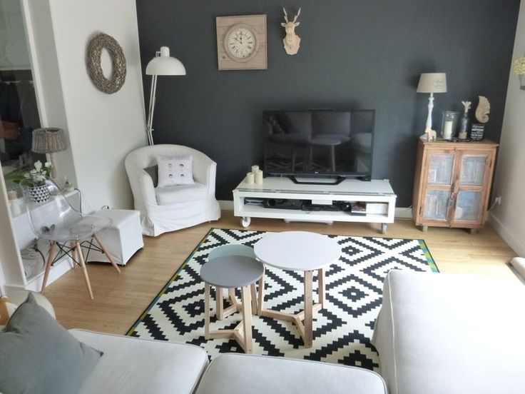 Les 25 meilleures id es de la cat gorie salons scandinaves for Photo de deco pour salon