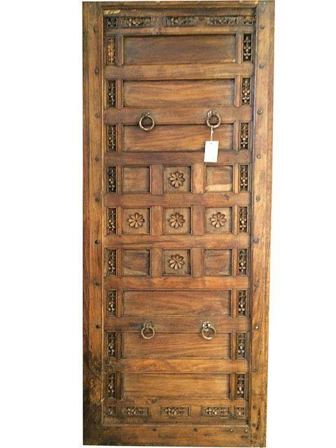 India Door Panel Antique Carved Vintage Panels Teak Headboard Orignally a Canopy  sc 1 st  Pinterest & The 25+ best Vintage door canopy ideas on Pinterest | Door canopy ...