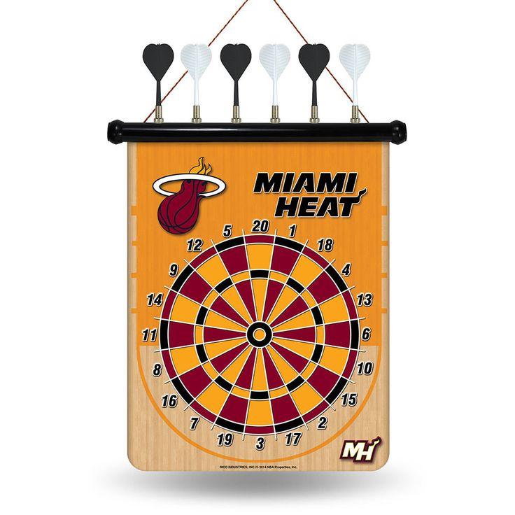 Miami Heat NBA Magnetic Dart Board