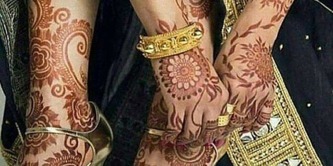 Exclusive & Stylish Mahndi Designs 2017-18 For Hands & Feet