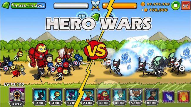 Hero Wars Super Stickman Defense V1 0 1 Mod Apk Mega Hileli Http Androidoyun Club 2017 12 Hero Wars Super Stickman Defense V1 0 1 Mod Apk Mega Hil Giải Tri