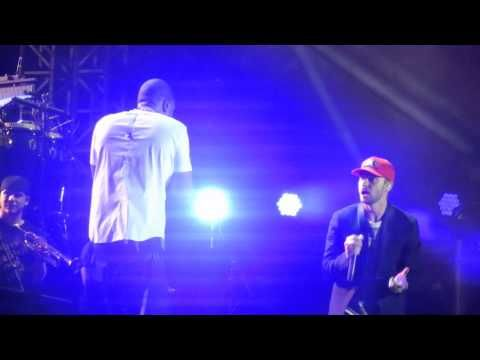 ▶ Jay-Z & Justin Timberlake - Holy Grail (Live at Wireless, London, 13th July 2013) - YouTube