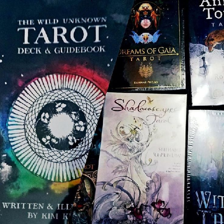 Extra Extra Come see what we have!!! - New tarot and oracle decks have arrived.  We have one copy of the hard to find The Wild Unknown Tarot Deck and Book Set.  We have TWU Spirit Cloths in black and white.  Animal Tarot Shadowscapes and others back in stock in store.  New Cat Tarot Dreams of Gia Tarot Deck and Book set and others in store you have to see them gorgeous.  New stunning steal have arrived daggers swords oh my.  Come see us Saturday and Sunday 9am to 430pm at the Salem Flea…