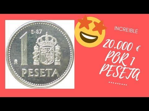 Consigue 20 000 Euros Por 1 Peseta Youtube Valor De Monedas Antiguas Monedas Viejas Monedas De Plata