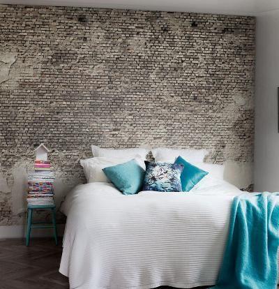 behang slaapkamer steen ~ pussyfuck for ., Deco ideeën