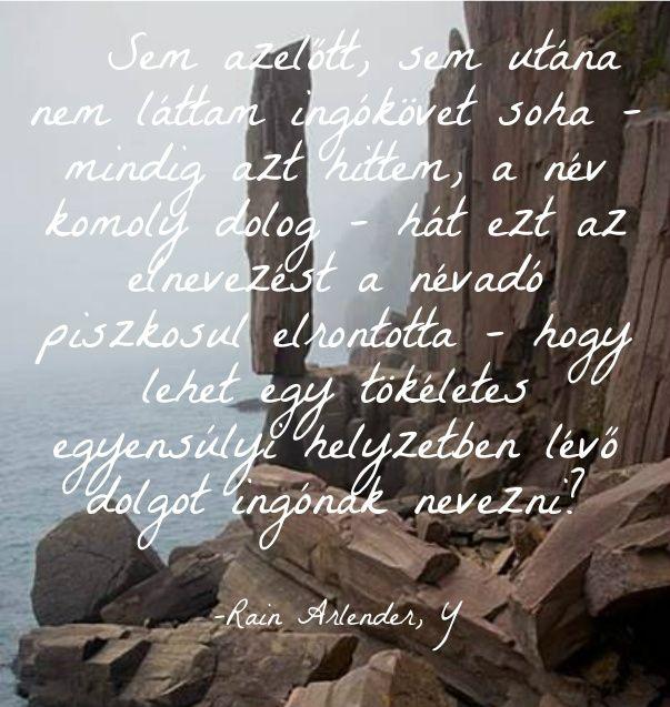 Ingókő ingó egyensúly tökéletes ekönyv szöveg Y Rain Arlender http://syllabux.hu/books/y?id=164