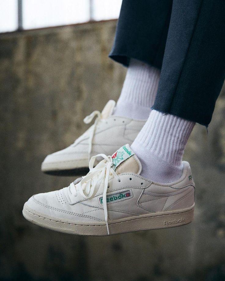 Back in stock: the @ReebokClassics Club C 85 Vintage Sneaker - SKU # 37469855. | #UOMens