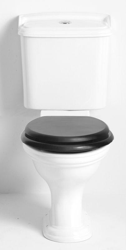 Toalett - Heritage Dorchester golvstående WC med smal cistern & sits - Sekelskifte