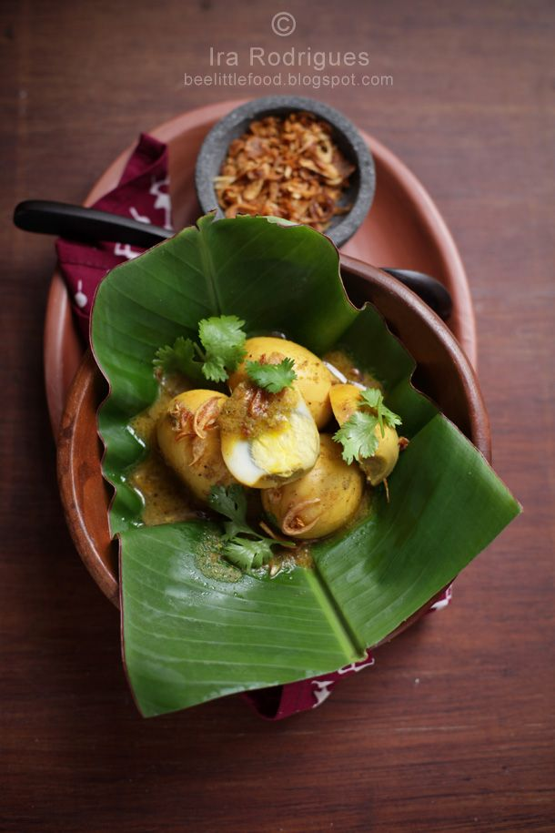 Eggs with Traditional Balinese Spice Paste (Taluh Mepindang)
