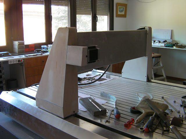 M s de 25 ideas incre bles sobre 4 ejes cnc en pinterest for Mesa fresadora casera