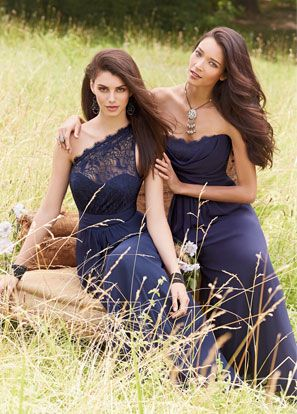Jessica's Dress (one shoulder)  Bridesmaids and Special Occasion Dresses by Jim Hjelm Occasions - Fall 2014 Collection - JLM Couture