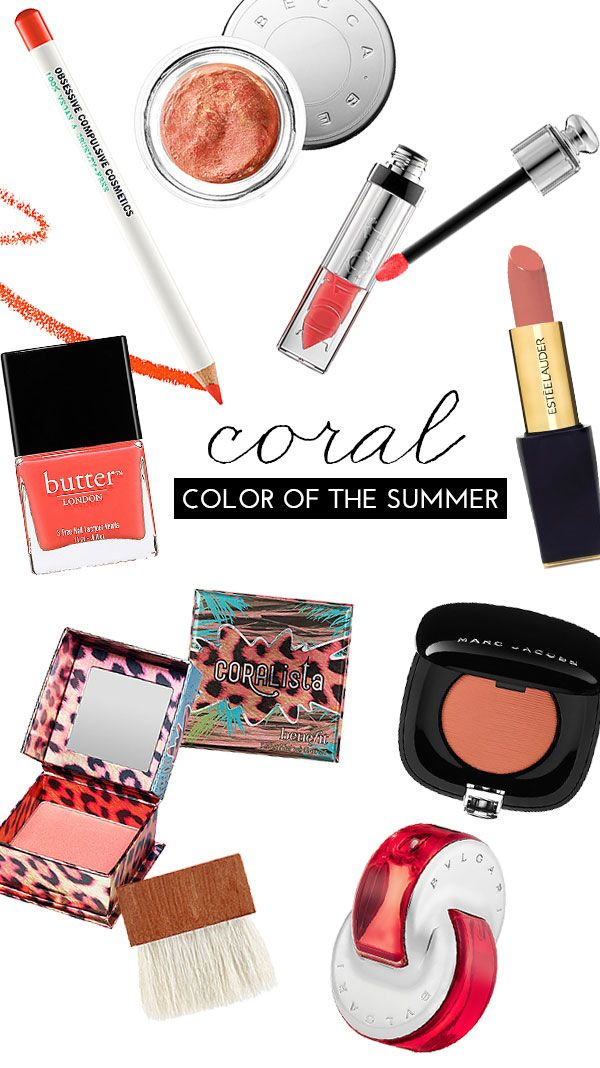 Our Color Of The Summer? Coral!