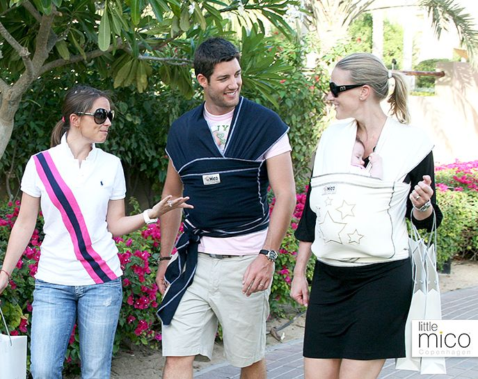 Outings are more fun with Littlemico Baby Wrap carriers.