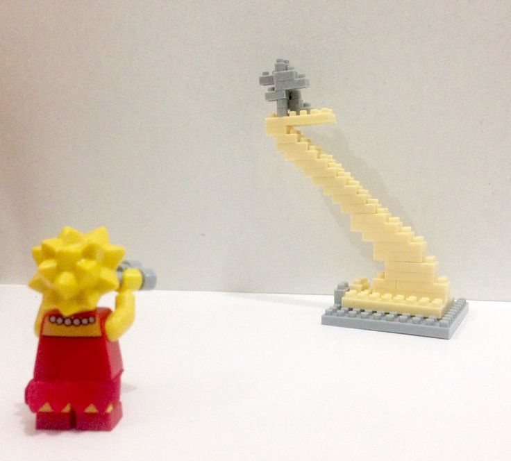 Lisa The Simpsons - Lego