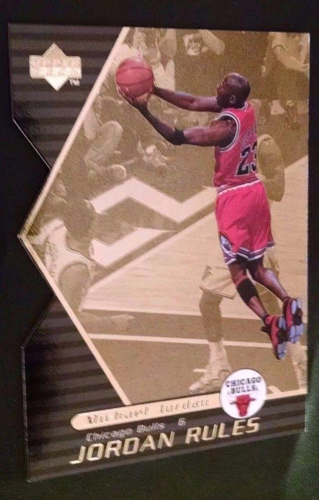 1998-99 Upper Deck Ovation Jordan Rules #J15 Michael Jordan Team: Chicago Bulls #ChicagoBulls