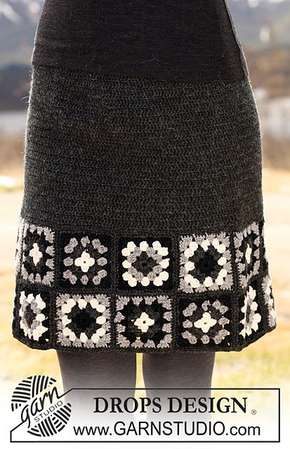 crochet skirt pattern free via 20 Popular Free #Crochet Skirt Patterns for Women