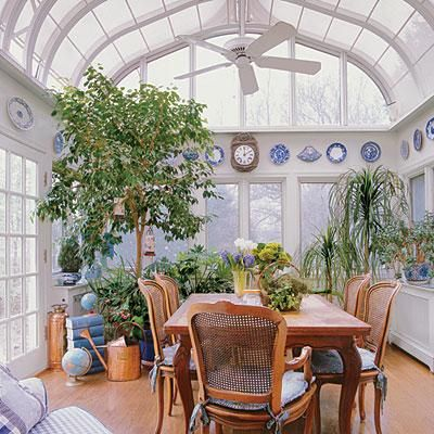 128 best images about sunroom art studio on pinterest for Conservatory dining room decorating ideas