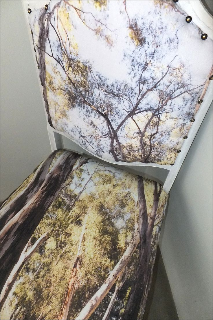 In the forest Custom printed fabric