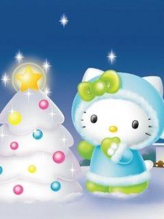 Hello Kitty Christmas Screensavers   hello kitty