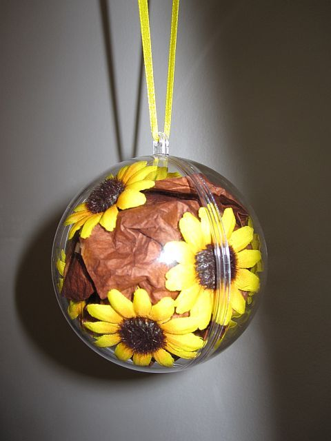 Another sunflower DIY decor