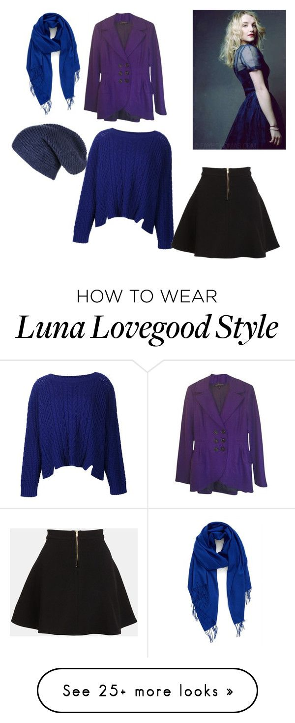 """""""Luna Lovegood"""" by wise-girl-1 on Polyvore featuring Nordstrom, Black, Nanette Lepore, ZAC Zac Posen and Parker"""