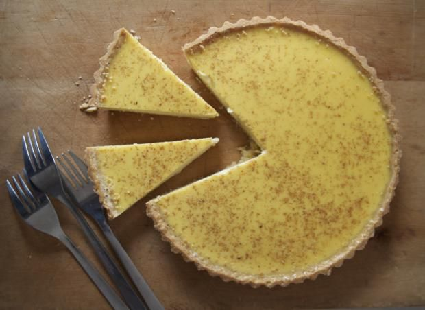 Great British Baking Show - egg custard recipe