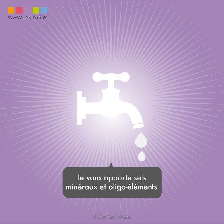 Contrairement aux idées reçues... l'eau du robinet contient des minéraux ! http://www.cieau.com/l-eau-potable/eau-du-robinet-source-de-mineraux…