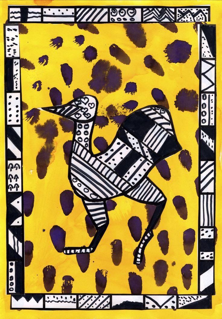 Initiation à l'art africain - ECOLE JEAN CAËR