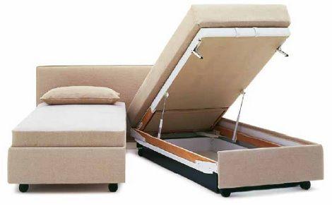 Schramm deelbaar bed met opbergruimte, wielen,bedla,dealer theo bot