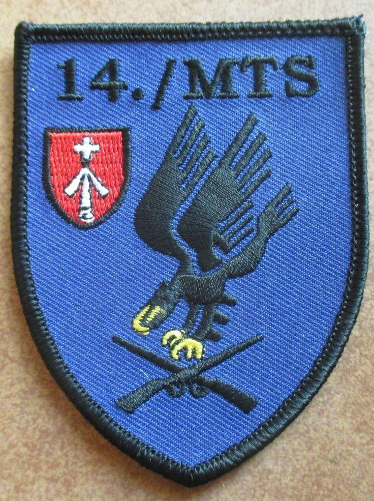 14 Inspektion MTS Marinetechnikschule Parow Marine Patch Abzeichen Navy