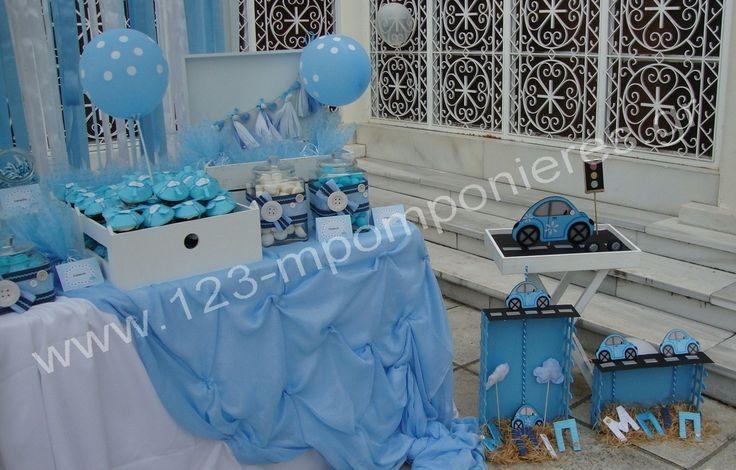 """ΣΤΟΛΙΣΜΟΣ ΓΑΜΟΥ - ΒΑΠΤΙΣΗΣ :: Στολισμός Βάπτισης Θεσσαλονίκη και γύρω Νομούς :: ΣΤΟΛΙΣΜΟΣ ΒΑΠΤΙΣΗΣ """"ΜΠΙΠ-ΜΠΙΠ"""" ΑΥΤΟΚΙΝΗΤΑΚΙ ΣΤΗΝ ΟΣΙΑ ΞΕΝΗ ΧΑΡΙΛΑΟΥ ΚΩΔ: MP101"""