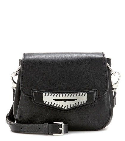 MASK MINI LEATHER SHOULDER BAG TOD'S