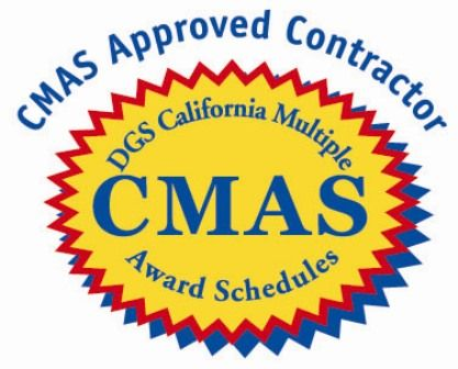 SyTech has a California Multiple Award Schedules (#CMAS) Contract.  Translation: our services are provided at prices which have been assessed to be fair, reasonable and competitive. The use of CMAS contracts is optional and is available to state and local government agencies.