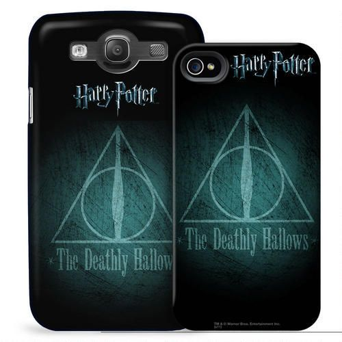 Deathly Hallows Symbol Phone Case for iPhone and Galaxy