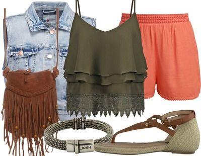 Een perfecte outfit voor een dagje festivallen. #stylefruitsopvakantie