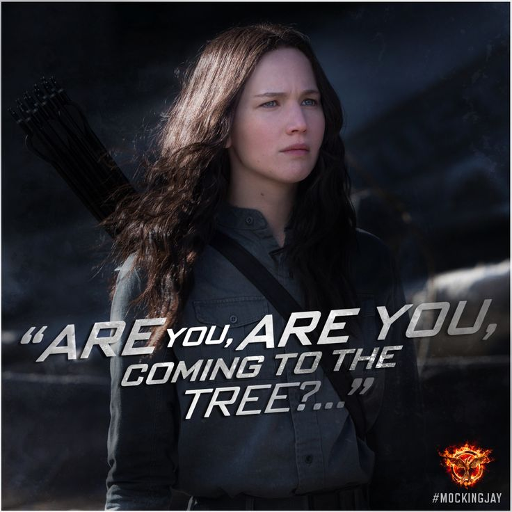 """Strange things did happen here, no stranger would it be…"" #Mockingjay"