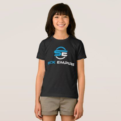 Sick Empire - Girls Tee 1 (Blue & White Logo) - girl gifts special unique diy gift idea