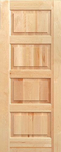 4 panel interior door & 7 best Madawaska Doors images on Pinterest | Bookcase Door entry ... pezcame.com