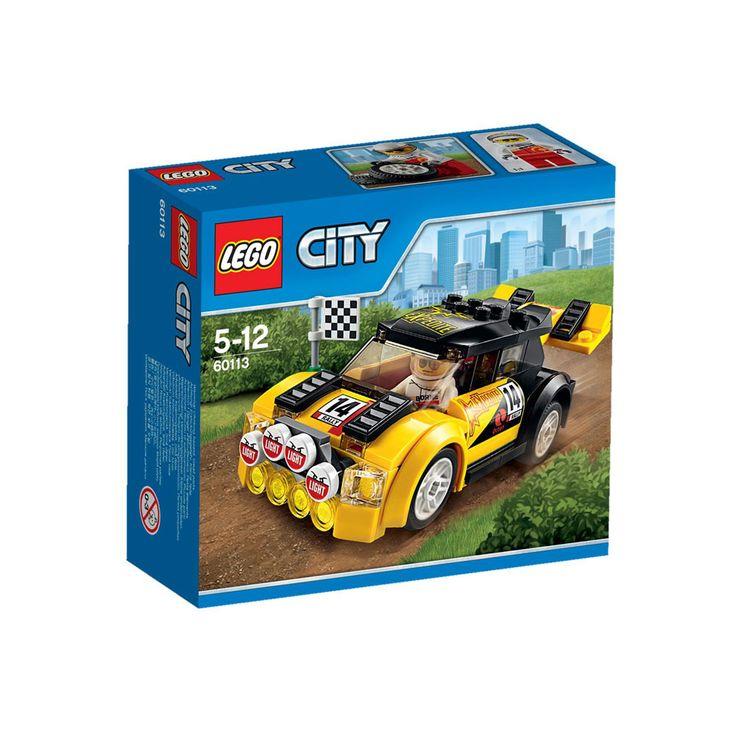 Entre para o Carro de Rali da LEGO City e aperte o cinto! Despache-se, a corrida vai começar. Acelere e força força força para ser o primeiro a cruzar a linha de chegada! Corra para ganhar na LEGO City!