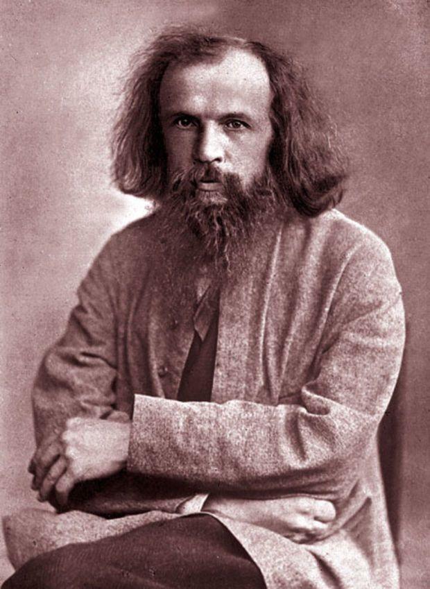 Dmitri Mendeleev – chemistry hero!